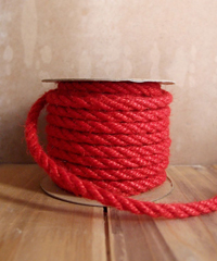 Red Jute Rope Cord