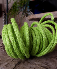 Green Jute Wired Rope