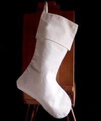 Canvas Stocking 24 inch