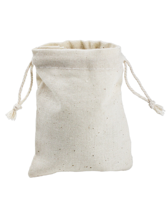 "Cotton Bag 3x4 - 3"" x 4"""