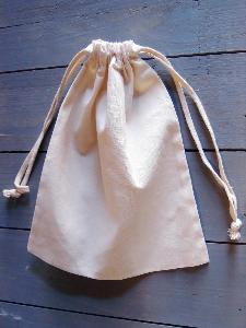 "Natural Cotton Bags 8x10 - 8"" x 10"""