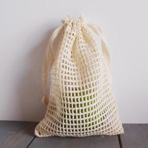 "Cotton Net Bags 4x6 - 4"" x 6"""