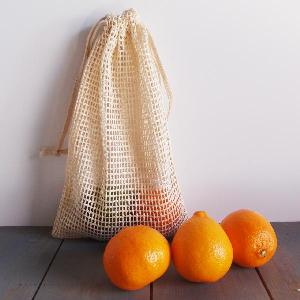 "Cotton Net Bags 6x10 - 6"" x 10"""