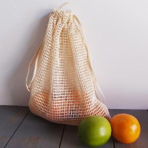 "Cotton Net Bags 6.5x12 - 6.5"" x 12"""