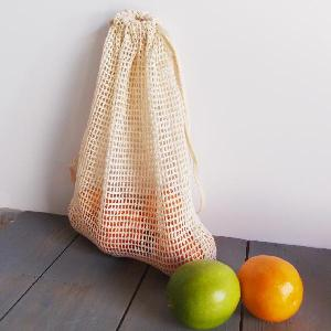 "Cotton Net Bags 8x10 - 8"" x 10"""