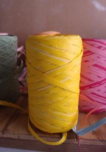 Upscale Raffia Yellow - 5mm x 50 meters
